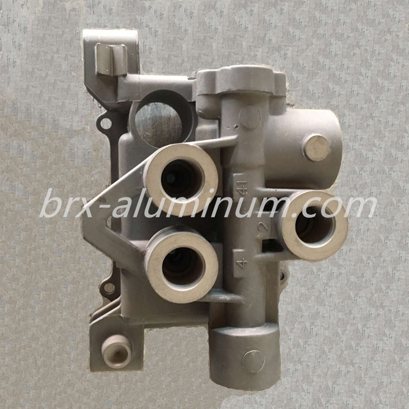 Hard Anodized Aluminum Die Casting Part