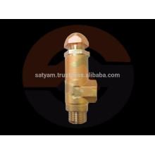 Válvula de alivio de presión de latón para sistemas de pulverización 300PSI y 700PSI