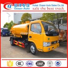 Camión de la bomba de la basura de Dongfeng 6000 litros