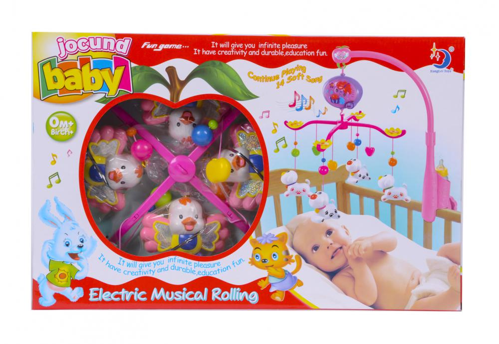 Baby Electric Musical Rolling