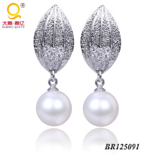 925 Sterling Silver Fwp Earrings (BR125091)