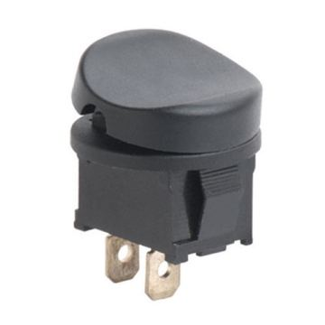 Round rocker switch 2 Terminal