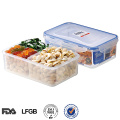 pp microwave safe airtight meal prep food container