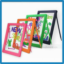 Acrylic panel with 1mm thickness school notice writing led board for kids