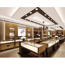 Modificado para requisitos particulares de gama alta joyería de madera mostrador Display