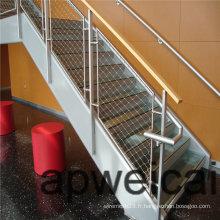 Maille flexible de corde d'acier inoxydable - durable, sûr et esthétique