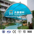 8mm 10mm 12mm Polycarbonate sheet uv resistant clear polycarbonate plastic plate