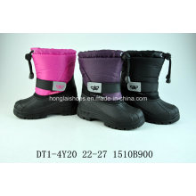 Flower Warming Shell Boots for Winter