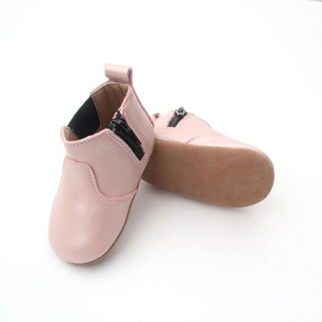 Botas casuales de cuero Soft Sole Infant.
