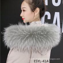 Fur Stripe and Fur Collars Esyl-41A