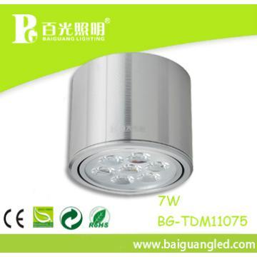 High lumen, home used 7w led down light