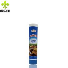 Tubo plástico comercial do alimento do tubo da categoria 100g que empacota para a manteiga de amendoim cremosa
