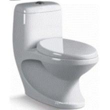 Toilette en céramique lavable en céramique pour lavabo (6515)