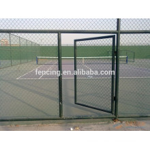 anti-corrosion chain link fence for tennis or racket court protection