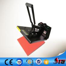 Высокого давления CE руководство цифровой резиновая печать на футболках машина