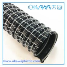 35mm PVC konduktiver Vakuumschlauch mit Einzelstahldraht