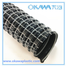 Tuyau de vide conduisant en PVC de 35 mm avec un seul fil en acier