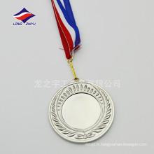 Médaille de jeux en blanc personnalisée Médaille de jeux d'hiver