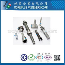Taiwan Stainless Steel 18-8 Custom-made By Bolt Nut Former Various Self Clinching Parts