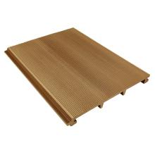 Tapume de alta qualidade da parede de Wpc do padrão para o Carport da casa de campo