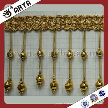 China al por mayor abanico franja de perlas, perlas de la tabla franja, franjas de cuentas de cortina