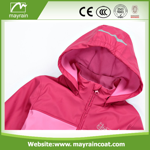 Low Price for PU Raincoat
