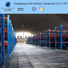 Heavy Duty Rack Supported Steel Panel Mezzanine for Warehouse with ISO/SGS