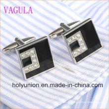 Hohe Qualität VAGULA Männer Französisch Hemd Kristall Silber Manschettenknöpfe 332