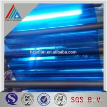 silver color plastic membrane