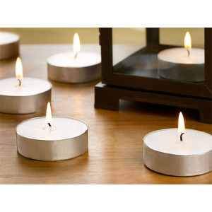 Candele di tea-light Australia 12g White Wax profumate