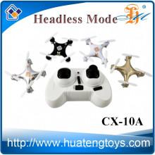 Cheerson CX-10A 2.4G 4CH 6 Eje RC nano mini drone con cámara CX10 RC quad helicóptero CX-10 actualización quadcopter