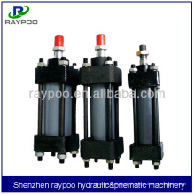 HOB tie rod hydraulic cylinder for slitter machine