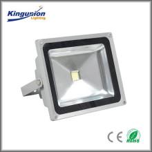 Ventas de fábrica de alta potencia al aire libre 20-50W LED serie de luz de inundación CE & RoHS IP65