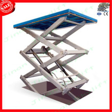 warehouse cargo lift platform