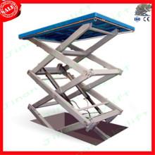 warehouse cargo lift platform