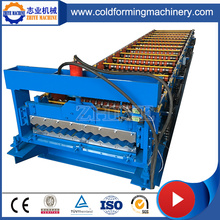 Steel Corrugated Roofing Panels Cold Forming Machine