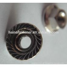 DIN6923 em aço inoxidável Hex Flange Nut