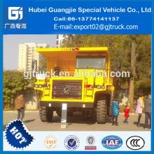 Camión de volquete de la explotación minera del carbón de 50ton dongfeng / camión de la explotación minera de la dongfeng 4 * 2 50T