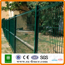 2D Pvc high security galvanized fence