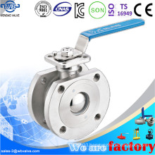 Stainless Steel Wafer Type Ball Valve Pn16