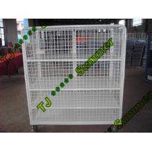 Isolierter Verschachtelungs-Maschen-Stahlrollen-Behälter 800 * 600 * 1450
