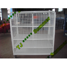 Insulated Nesting Mesh Steel Roll Container 800*600*1450
