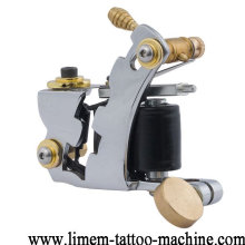 2017 de alta calidad 12 vueltas bobinas verdes máquina de tatuaje