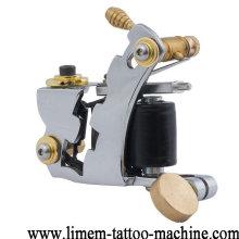 2017 high quality 12 wraps green coils tattoo machine