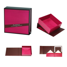 Kecantikan mewah Lipatan Folding Paper Gift Box Packaging
