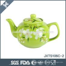 2015 bule de chá colorido 6cup bule de chá de cerâmica, bule pintado à mão, bule de estilo chinês