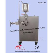 Homogeneizador de alta presión de laboratorio