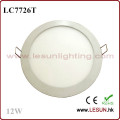 Round Recessed Instal 12W Panel Lights LED/Flat Light LC7726t