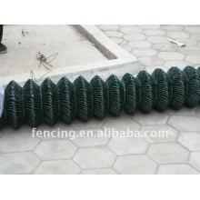 PVC coating Chain link fence(1.8/2.2MM X 50X50MM x 1.8m x 30m)