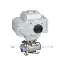3PCS electric ball valve(screw thread)